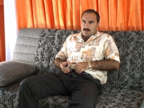 Abbas - In this turkish gay video a naked hairy turk shows his totally hairy ass in doggy style. (id456)