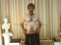 Fatos - a naked turkish farmer with a perfect figure and a lot of pressure while cumshot seen in a turkish gay video. (id484)