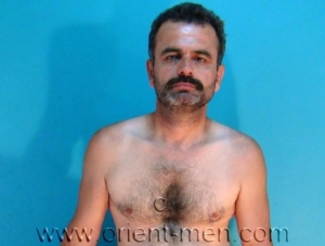 Ferit K. - a naked hairy turkish man jerks of