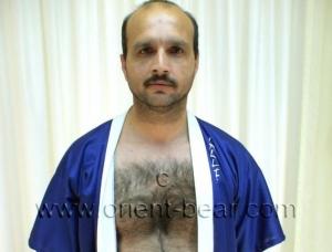 Zeki E. - a turkish man with a very hairy che