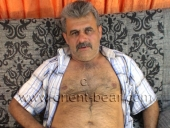 Yueksel - is an erotic naked turkish bear with a hot butt and a hairy ass crack in a hot turkish gay video. (id508)