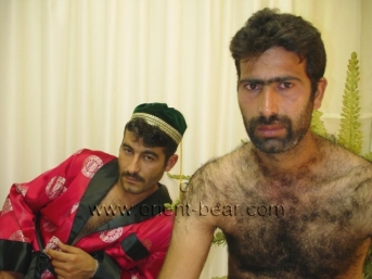 Cezair + Hakan Y. - a very hairy kurdish Man as Slave who fucks his turkish Man as Master in Dog Position in a turkish Gay Video. (id553)