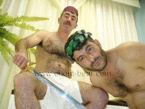Sefer and Hakan Y. plays efendy and slave with a hot fuck in dog position. (id601)