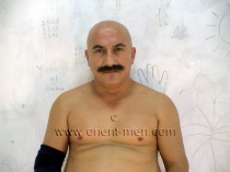 Rami - a Naked Turkish Construction Worker jerks off in jail and has a hot orgasm with a lot of pressure in an turkish gay video. (id629)
