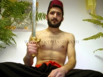 Mert - is a young Kurdish Man with a very big Cock and a huge amount of Sperm in a kurdish gay video. (id67)