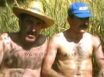 Sefer and Mahmut - two naked turkish farmers fuck on the Field in the dog position. (id690)