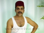 Kadir F. - a young Turkish Man with a Fez and a sexy Mustache in a Turkish Gay Video. (id708)