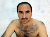 Abbas - a naked, strong very hairy Turkish Bear with a plump hairy Ass and a lot of Pressure at his Cumshot. (id743)
