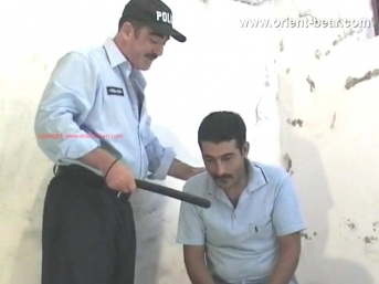 Sefer and Hakan Y. - a turkish gay porn video with two naked turks wanked in a prison cell. (id760)