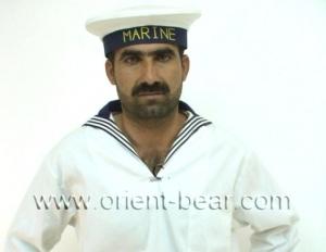 Tarek D. is a big kurdish man with a very lon