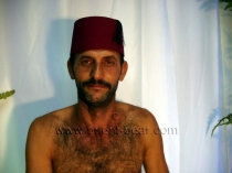 Pala - is a Very Hairy Turkish Man with a rock hard Cock and a very hairy Body in a oldy turkish Gay Video. (id809)