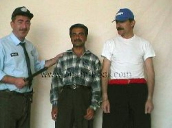 Sefer - Ali S. - Mahmut - A turkish policeman and a prisoner fuck a prisoner in the dog position in a turkish gay porn video. (id810)
