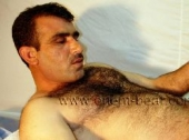 Safak - a young and very hairy naked Turkish Daddy with an intense Orgasm (ID838)