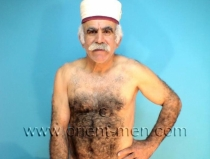Ibrahim M. - is an Naked Hairy Older Turkish Man with a big cock and a totally hairy ass in a turkish gay video. (id92)