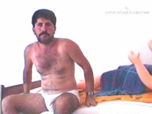 Kemal O. S. - a young strong Naked Kurdish Be