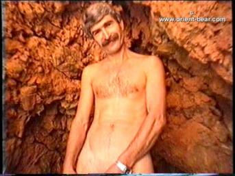 Baris is a Kurdish Man who masturbates naked in the Rocks on the Beach...