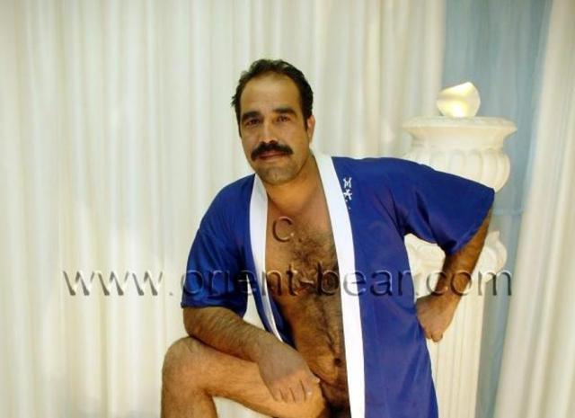 haired turkish man