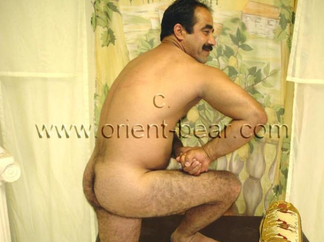 hairy turkish man